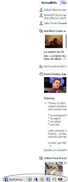 Bas profil facebook